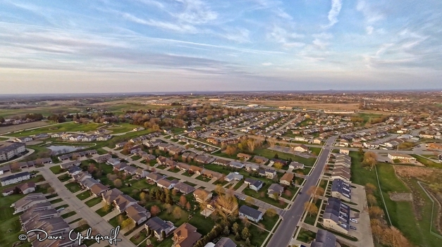Our Neighborhood at 400 feet