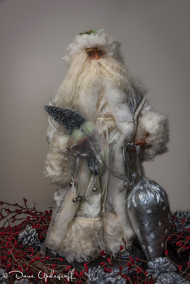 White Santa Clause